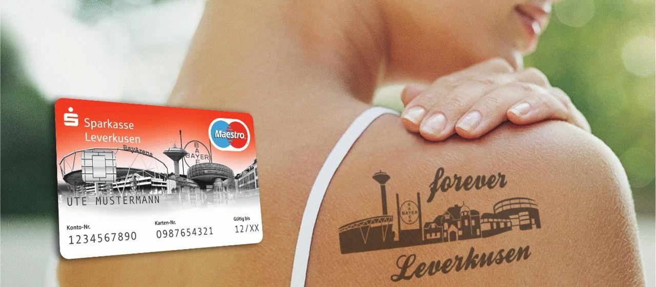 Sparkassen Card Debitkarte Sparkasse Leverkusen